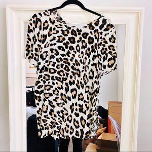Cheetah H&M Blouse